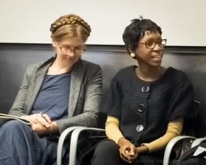 Elizabeth Hamby and Kanene Holder at the IA Conference